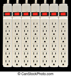 Surge Protector Electric Outlet - A basic surge protector...