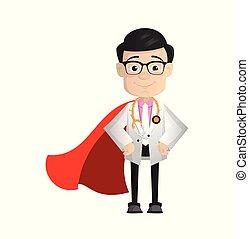 Surgeon - In Super Hero Costume