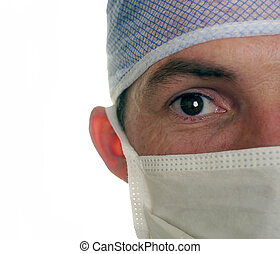 surgeon wearing surgical mask - surgeon in surgical mask