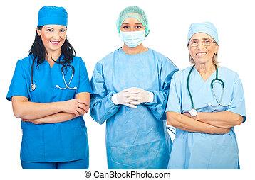 Surgeons women group
