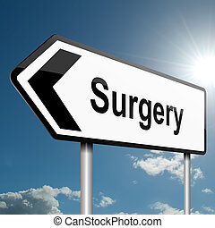 Surgery concept. - Illustration depicting a road traffic...
