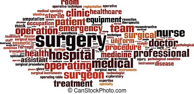 Surgery-horizon [Converted].eps - Surgery word cloud concept...