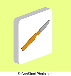 Surgical Scalpel computer symbol for your business project