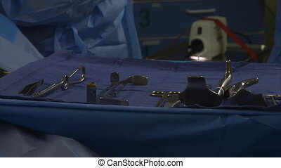Surgical tray handling, Africa Mercy, Conakry - Extreme...
