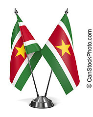 Suriname - Miniature Flags. - Suriname - Miniature Flags...
