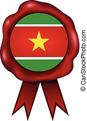 Suriname Wax Seal - Suriname wax seal.