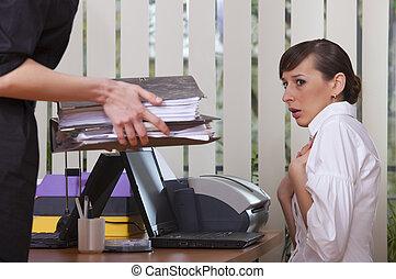 Images de stock de ongles classement secrtaire travail bureau