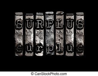 Surplus concept