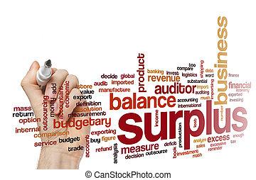 Surplus word cloud