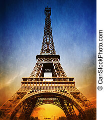 surprenant, tour eiffel