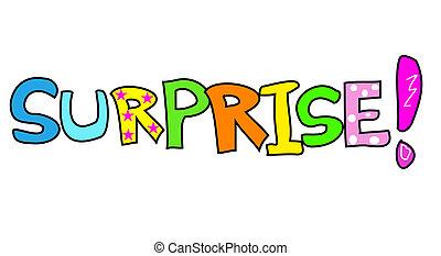 Surprise - Colorful illustration