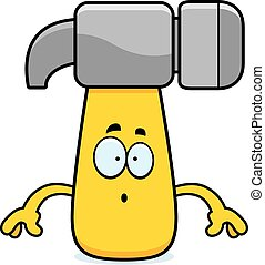 Surprised Cartoon Hammer