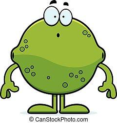 Surprised Cartoon Lime