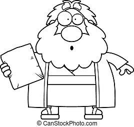 Surprised Cartoon Moses