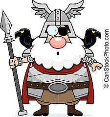 Surprised Cartoon Odin