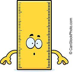 Surprised Cartoon Ruler