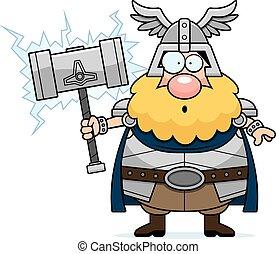 Surprised Cartoon Thor