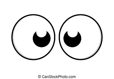 Surprised Funny Cartoon Comic Eye