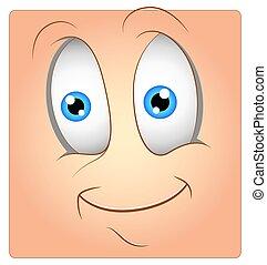 Surprised Happy Box Smiley