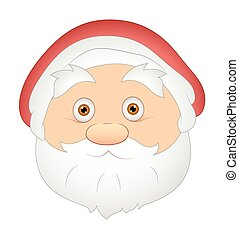 Santa face Clipart Vector Graphics. 9,432 Santa face EPS ...