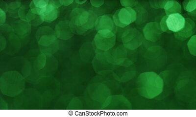 surréaliste, vibrant, rêveur, transitions, fond, vert, ...