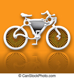 Surreal Bicycle