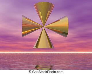 Surreal Cross