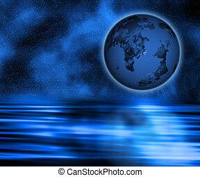 Surreal Earth