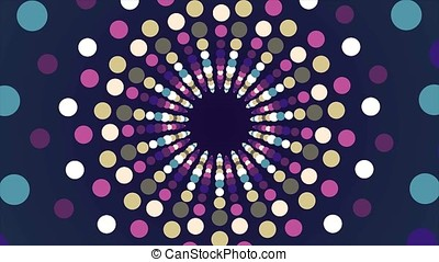 Surrealistic abstract background. Abstract kaleidoscope...