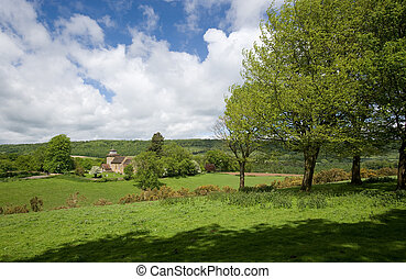 Surrey Countryside at Wotton - Pleasant rural Surrey...