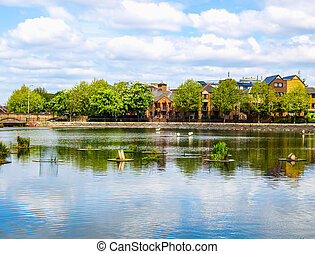 Surrey Water, London HDR - High dynamic range HDR Surrey...