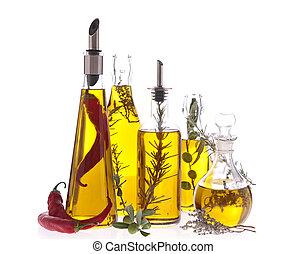 surtido, aceite de cocina