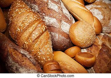 surtido, horneó pan