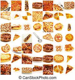 surtido, pizza