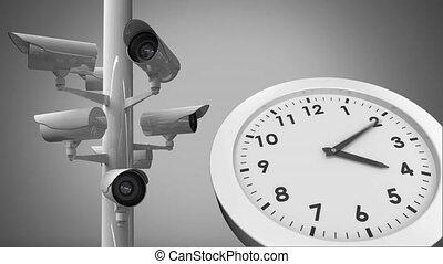 surveillance, 24/7, cameras