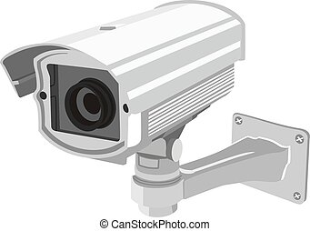 surveillance camera for building and security