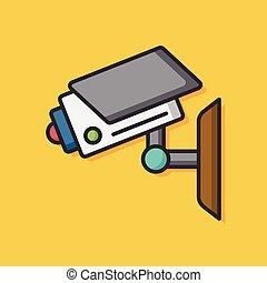 surveillance camera video icon