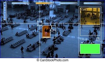 surveillance monitor
