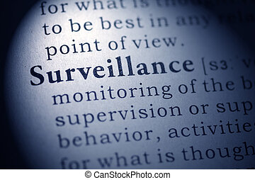 Surveillance - Fake Dictionary, Dictionary definition of the...