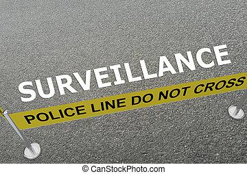 SURVEILLANCE - police concept
