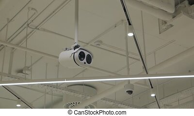 Surveillance security camera artificial intelligence technology camera movement