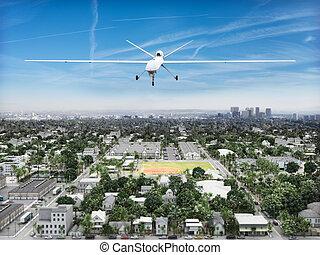 Surveillance UAV drone