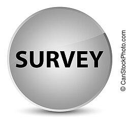 Survey elegant white round button
