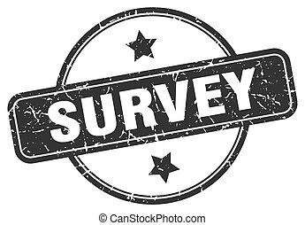 survey grunge stamp