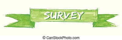 survey ribbon