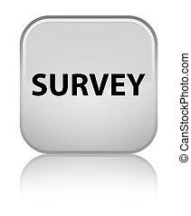 Survey special white square button