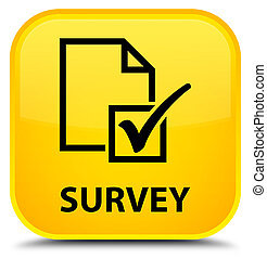 Survey special yellow square button