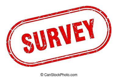 survey stamp. survey square grunge sign. survey