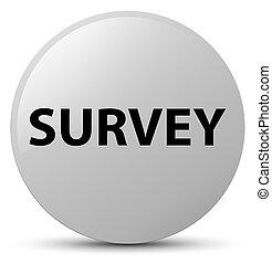 Survey white round button
