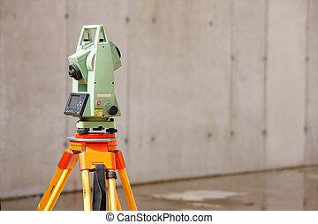 Surveying tools - Surveyor equipment tacheometer or ...